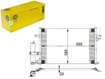 конденсатор кондиционера daewoo nubira седан 1.8 (kl - фото