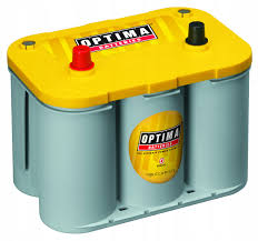 аккумулятор optima желтый топ 55ah 870a - фото