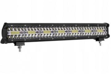 панель светодиод led фара робоча галогенка 420w 12-24v cree - фото