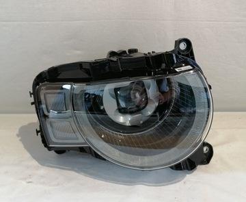 land rover defender фонарь правый full led фара - фото