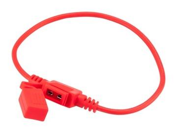 разъем предохранителя mini герметичные на провод - фото