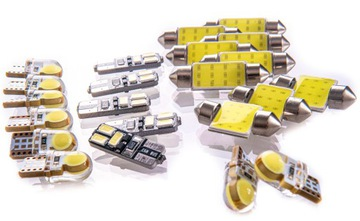 bmw e46 - комплект освещение интерьера led! стандарт - фото