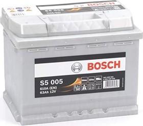 bosch silver s5 63ah 610a - фото