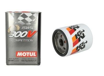 фильтр k&n+ масло motul 300v competition15w50 5l - фото