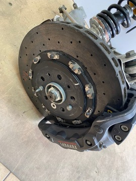 ferrari 488 gtb тормозных дисков тормозна зад ceramika левая - фото