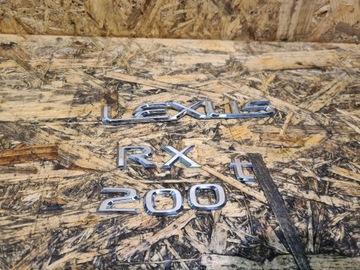 napis lexus rx 200t 2016-2020 значок эмблема - фото