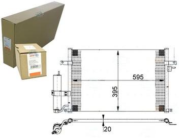 конденсатор кондиционера daewoo nubira седан 1.6 (kl - фото