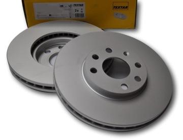 textar 2 x диск тормозный 92118403 - фото