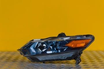 honda insight рестайлинг 2012- фонарь фара перед usa - фото