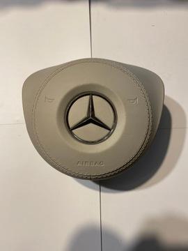 airbag подушка руля mercedes w213 w205 кожа - фото