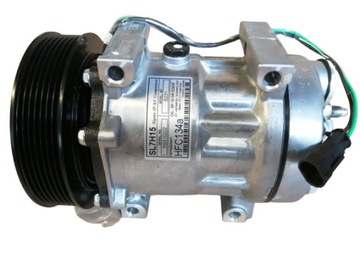 компрессор кондиционера daf cf xf 105 sr 136/7 - фото