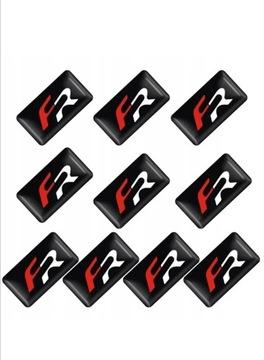 логотип наклейка эмблема значок fr seat руль - фото