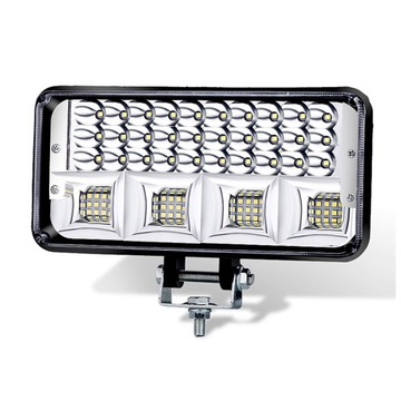 панель светодиод led фара робоча галогенка 198w 12-24v cree - фото