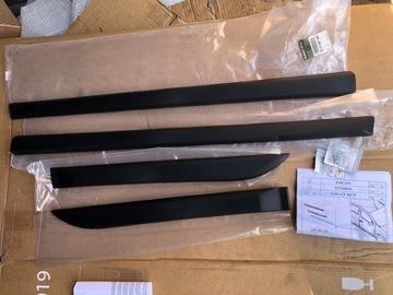 молдинги защитные дверь dacia logan ii новое оригинал - фото
