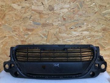 peugeot 301 решетка бампера перед 2012- - фото