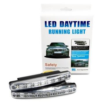 свет для водителя дневной светодиод led drl ксенон white 6000 - фото