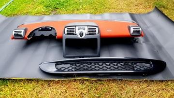 smart 451 fortwo торпеда консоль + решетка радиатора - фото