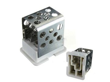 резистор воздуходувки opel astra g h zafira a - фото