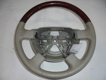 руль дерево кожаный lincoln навигация 2004 - фото