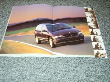 chrysler voyager i grand voyager 1995 -2 prospekty - фото