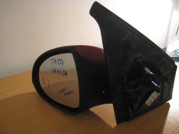зеркало внешнее tata indica ручное покрашенное - фото