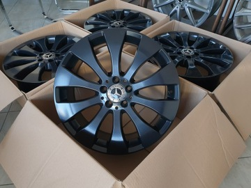 черное титаны диски mercedes glc x253 19 cali - фото
