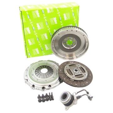cцепление + колесо жёсткое valeo 845149 - фото