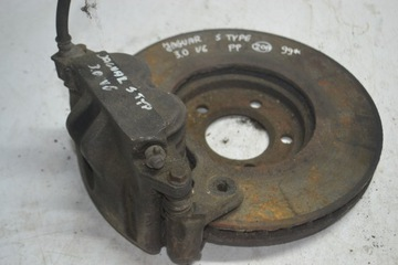 диск тормозна правая передняя jaguar s-type - фото