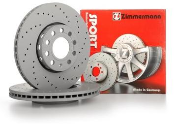 диски zimmermann sport перед - bmw 3 e46 325mm - фото