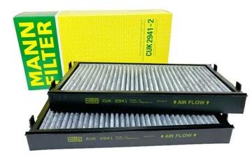 mann cuk 2941-2 фильтр салонный bmw x5 e70 f15 x6 - фото