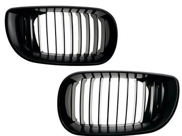 решетка радиатора решетки черный блеск bmw 3 e46 седан универсал - фото