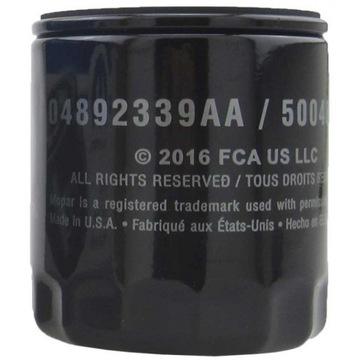 фильтр масла mopar mo-339 jeep dodge 04892339aa - фото