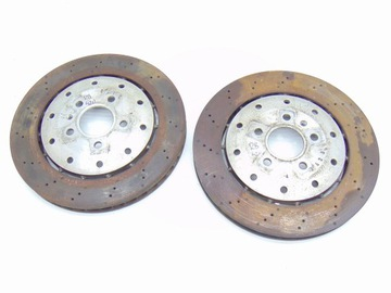 комплект тормозных дисков тормозных зад audi r8 420 4.2 v8 - фото