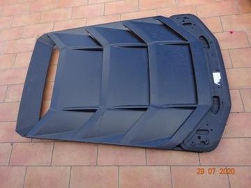 lamborghini huracan крышка багажника защита мотора - фото