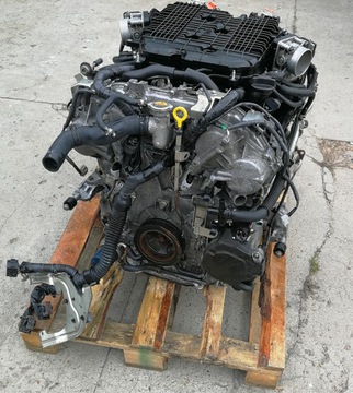 vq35 двигатель стойки 3, 5 awd hybrid infinity q50 s - фото