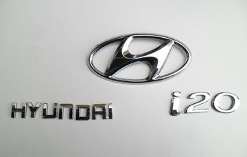 hyundai i20 2 ii 2014- эмблема лого napis крышке - фото