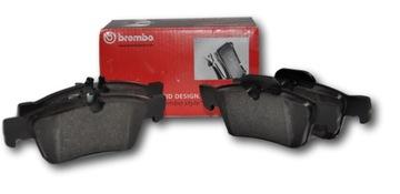 brembo колодки тормозные p24201 - фото