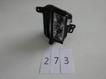 туманка led cadillac ct-6 правый - фото