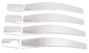 накладки на ручки хром opel insignia 2009-2016 - фото