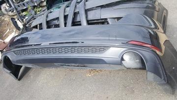 бампер задний audi a5 sportback 8w f5 ly9t s-line - фото