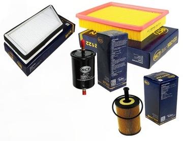 комплект фильтров peugeot 206 1.6 16v для 2004 - фото