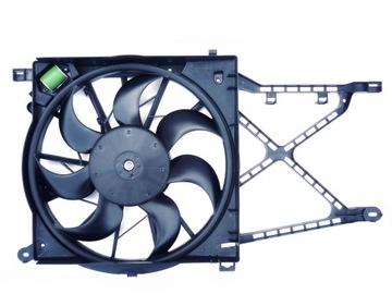 состояние новое вентилятор комплектный opel astra h 1.6 77kw - фото