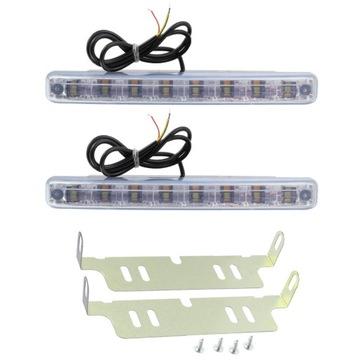 свет дневной drl + поворотники поворотник 8 светодиод led - фото