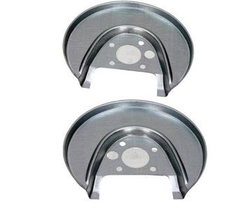 защита диски kotwiczna комплект зад vw audi a3 8l - фото