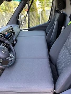кровать для микроавтобуса на перед сидения ducato jumper - фото