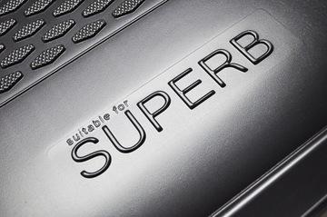 skoda superb 3 универсал 2015- коврик багажника вкладыш - фото