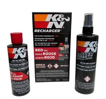 k&n комплект до czyszczenia фильтров 99-5050 - фото