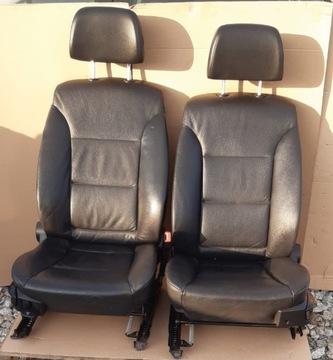 bmw e60 e61 сиденье руля пассажира перед кожа английская - фото
