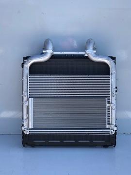 радиатор воды интеркулер daf xf 106 евро 6 рестайлинг - фото