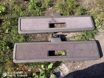 защита крышки багажника серая volvo 740/760/940/960 универсал - фото